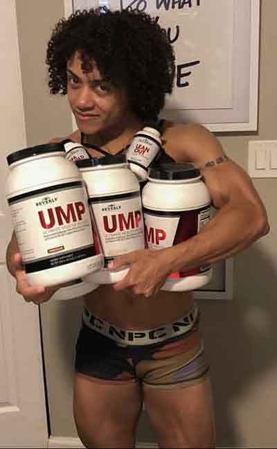 Sharlyn with Supplements