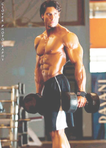 Bodybuilder to Men's Physique Competition