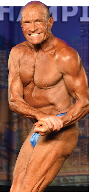 73 Years of Age, Completely Natural, and 3rd Place at the NPC Masters Nationals