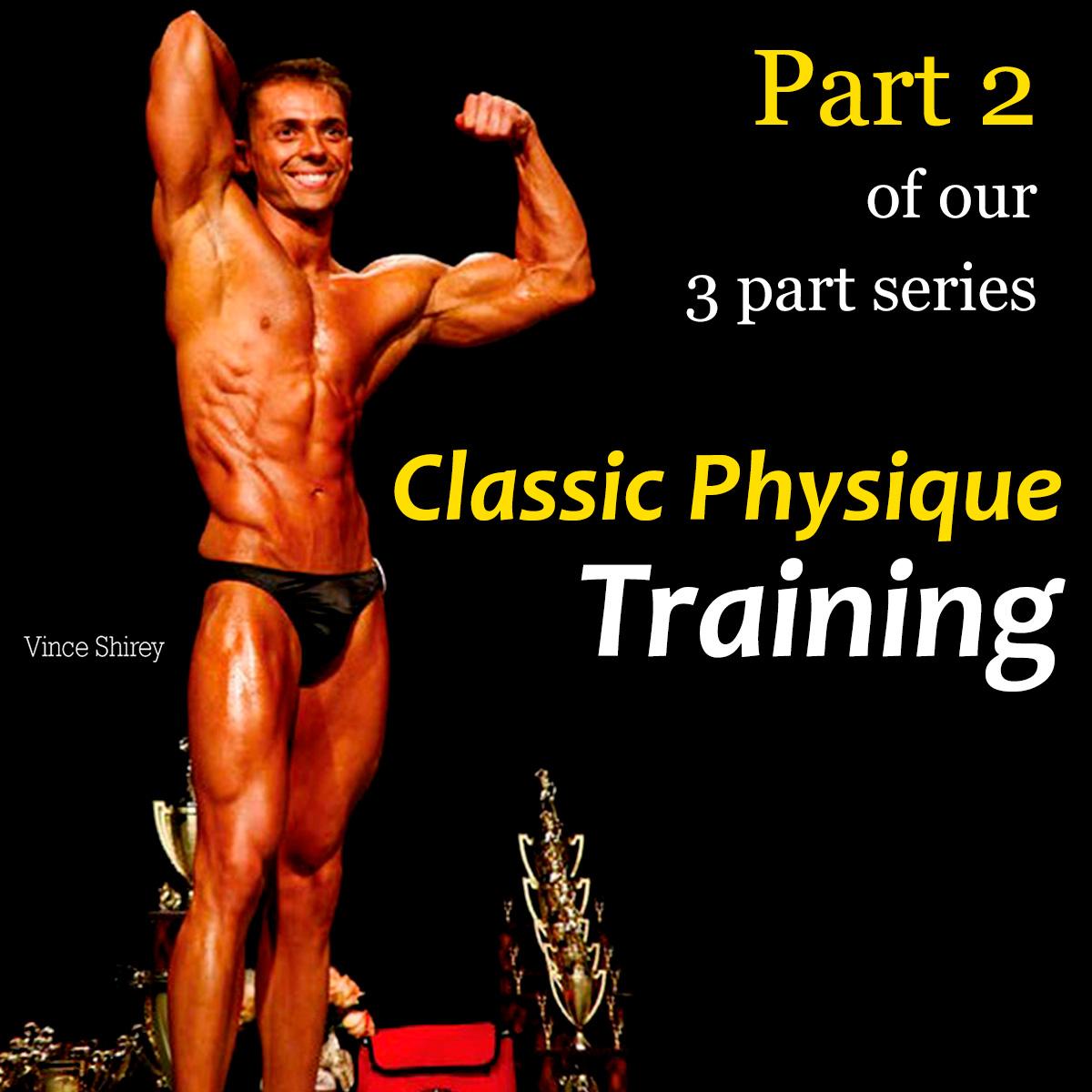 Classic Physique - Training