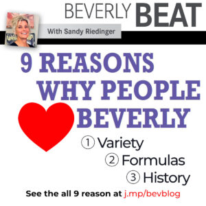 9 REASONS WHY PEOPLE LOVE BEVERLY
