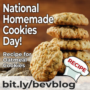 Here's a good recipe for Oatmeal and Oatmeal Cookies!